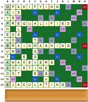 1780 points with TWL words only